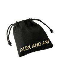 ALEX AND ANI   Metallic Four Leaf Clover Iii Bracelet   Lyst