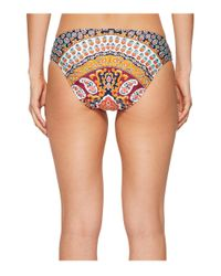 Nanette Lepore Multicolor Super Fly Paisley Charmer Hipster Bikini Bottom (multi) Swimwear