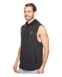 Under Armour Black Sportstyle Sleeveless Hoodie for men