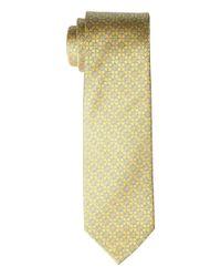 Eton of Sweden Floral Medallion Tie (yellow) Ties for men