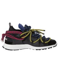 DSquared² Blue Bungy Jump Sneaker for men