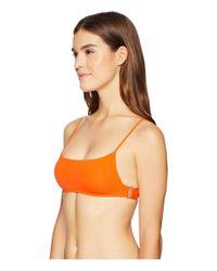 L*Space Orange L* Piper Top (poppy) Women's Swimwear