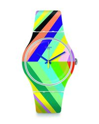 Swatch Multicolor Psycadelic - Suow155 (multi) Watches