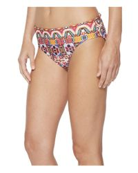 Kenneth Cole - Multicolor Casablanca Hipster Bikini Bottom - Lyst
