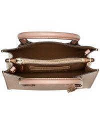 MICHAEL Michael Kors - Mercer Medium Messenger (soft Pink/ecru/fawn) Messenger Bags - Lyst