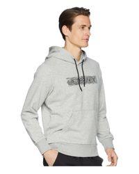 Adidas Originals Gray Logo Hoodie for men