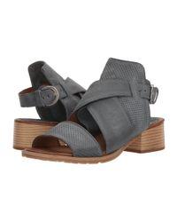 Miz Mooz Blue Fiji (sky) Shoes