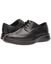 Ecco - Black Lhasa Brogue Tie Oxford for Men - Lyst