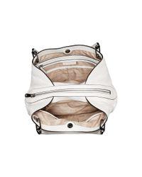MICHAEL Michael Kors - White Raven Large Shoulder Tote (black) Tote Handbags - Lyst