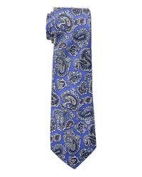Lauren by Ralph Lauren Blue Small Paisley Tie for men