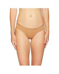 L*Space Natural L* Color Block Barracuda Classic Bottom (cream/black/camel) Women's Swimwear