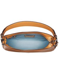 COACH - Multicolor Glovetanned Nomad Crossbody (sv/light Saddle) Cross Body Handbags - Lyst