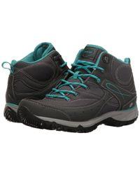 Hi-tec Equilibrio Bijou Mid I (charcoal/tile Blue) Women's Shoes