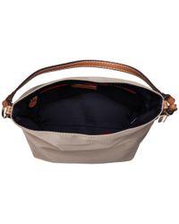 Tommy Hilfiger - Natural Julia Convertible Solid Nylon Hobo (khaki) Hobo Handbags - Lyst
