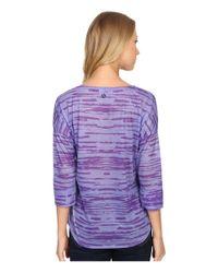 Prana Purple Aleah Top