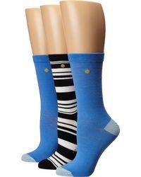 Kate Spade | Blue 3-pack Trouser Socks | Lyst