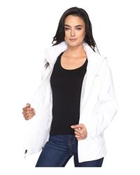 The North Face White Resolve Jacket