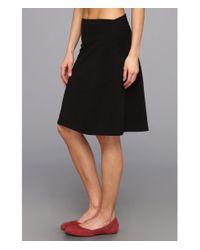 Fig Clothing Black Bel Skirt