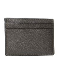 Marc Jacobs Black Brown The Textured Tag Card Holder