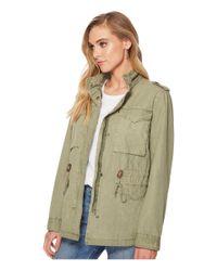 Levi's - Green Four-pocket Utility Jacket - Lyst