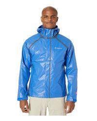 Columbia Blue Outdry Extm Blitztm Jacket for men