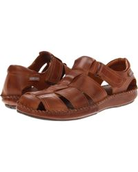 Pikolinos Red Tarifa 06j-5433 (cuero) Men's Hook And Loop Shoes for men