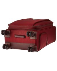 Delsey - Red Montmartre Carry-on Expandable Spinner Trolley for Men - Lyst