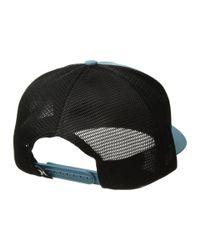 Hurley Multicolor Milner Hat (pure Platinum) Caps for men