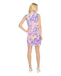 Lilly Pulitzer Essie Dress (sparkling Blue Hey Bay Bay) Women's Dress
