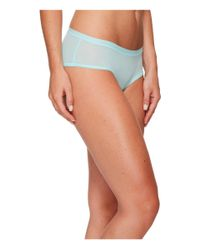 Under Armour Blue Pure Stretch Sheer Hipster