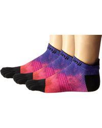 Injinji - Multicolor Run Lightweight No Show 3-pair Pack - Lyst