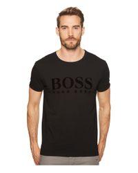BOSS Orange Black Toulou T-shirt for men