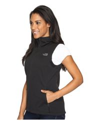 The North Face - Black Canyonwall Hoodie Vest - Lyst