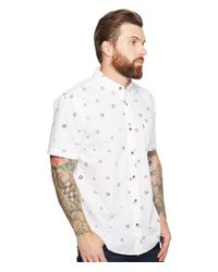 Levi's | White Schaefer Short Sleeve Woven for Men | Lyst