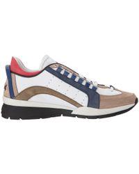DSquared² Multicolor High Sole Sneaker for men