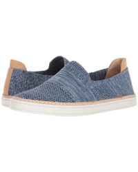 Ugg - Blue Sammy (white) Women's Flat Shoes - Lyst
