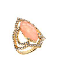 Kate Spade - Multicolor Lantern Gems Ring - Lyst