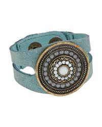 Leatherock - Multicolor Bree Bracelet (granite) Bracelet - Lyst