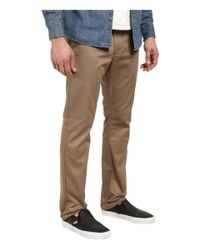 RVCA - Natural The Week-end Pant for Men - Lyst