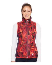Spyder Red Glissade Insulator Vest