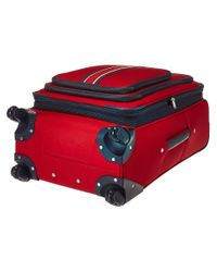 Tommy Hilfiger Signature Solid 24 Upright Suitcase (red) Luggage