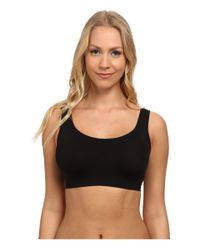 Hanro | Black Touch Feeling Crop Top | Lyst