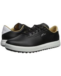Adidas Originals Black Adipure Sp (footwear White/footwear White/grey Two) Men's Golf Shoes for men