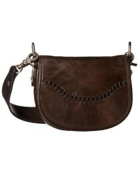 Frye | Brown Melissa Whipstitch Mini Saddle | Lyst