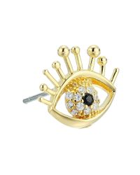Marc Jacobs - Metallic Something Special Evil Eye Single Stud Earring - Lyst
