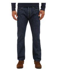 Levi's Blue 513 Slim Straight Quincy Jeans for men
