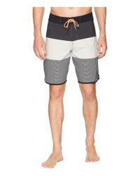 Quiksilver - Gray Highline Tijuana Scallop 20 Boardshorts (micro Chip) Men's Swimwear for Men - Lyst