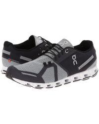 On Gray Cloud (black/slate) Men's Running Shoes for men
