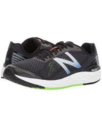 New Balance Fresh Foam Vongo V2 (black/energy Lime/vivid Cobalt) Running Shoes for men