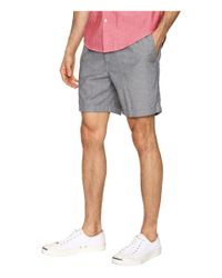 Dockers Gray Standard Pull-on Shorts (campbell B Good Moonlit Ocean) Men's Shorts for men